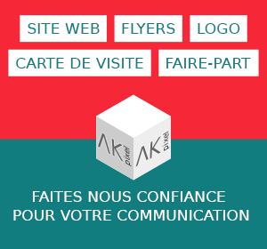 Création de Site web, Flyers, logo, carte de visite, faire-part AK pixel